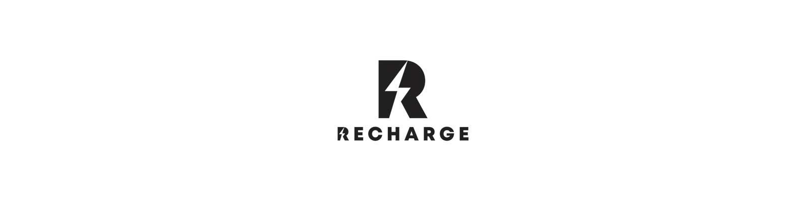 Recharge Logo with Fitter Stronger