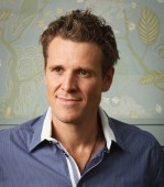 James Cracknell with Fitter, Stronger