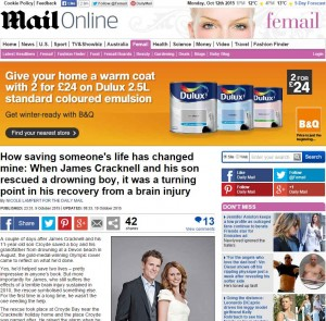 James Cracknell of Fitter Stronger interview with The Daily Mail